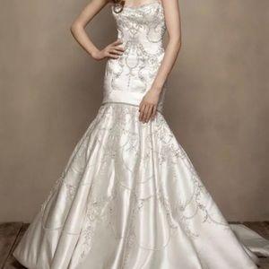 5d9985ec82996 Women's Crystal Beaded Wedding Dress on Poshmark